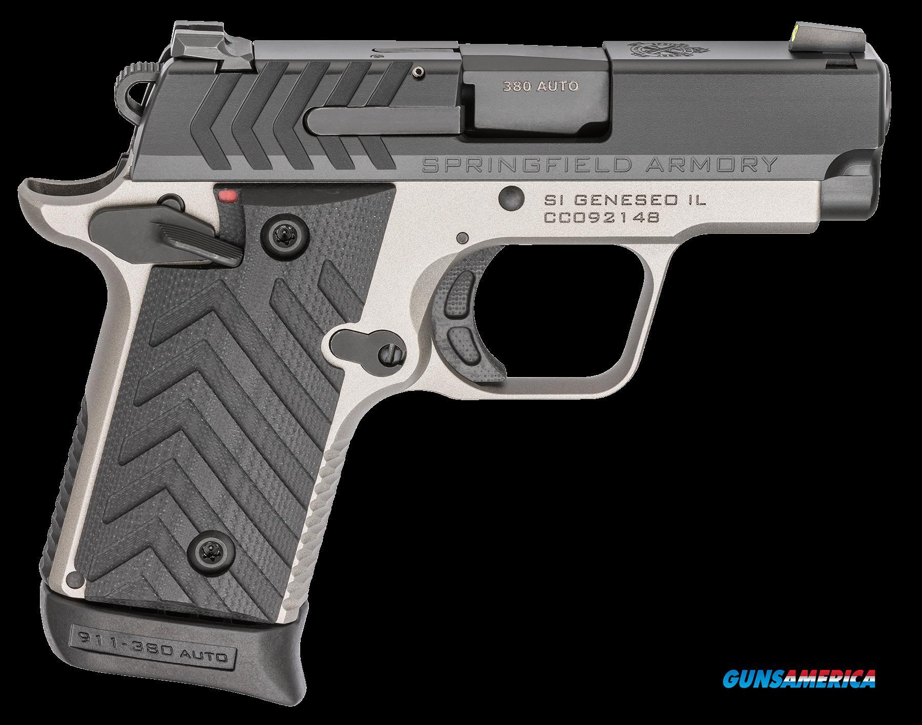 Springfield Armory 911, Spg Pg9109tn      380 911 2.7 Titanium-ntrd  6-7r  Guns > Pistols > 1911 Pistol Copies (non-Colt)
