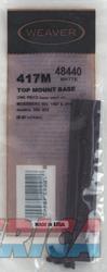 Weaver Top Mount Aluminum Base #417m  Guns > Pistols > 1911 Pistol Copies (non-Colt)