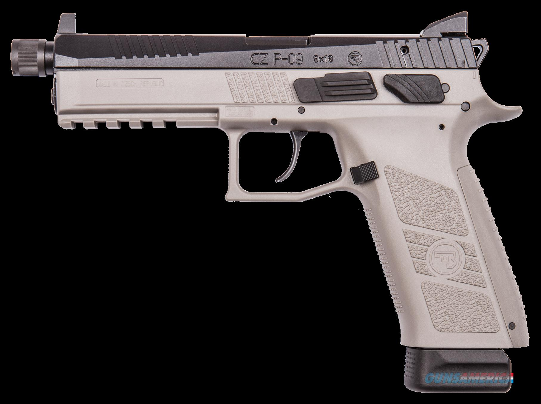 Cz P-09, Cz 91269 P09 9mm Ns Sr Grey-blk               21rd  Guns > Pistols > 1911 Pistol Copies (non-Colt)