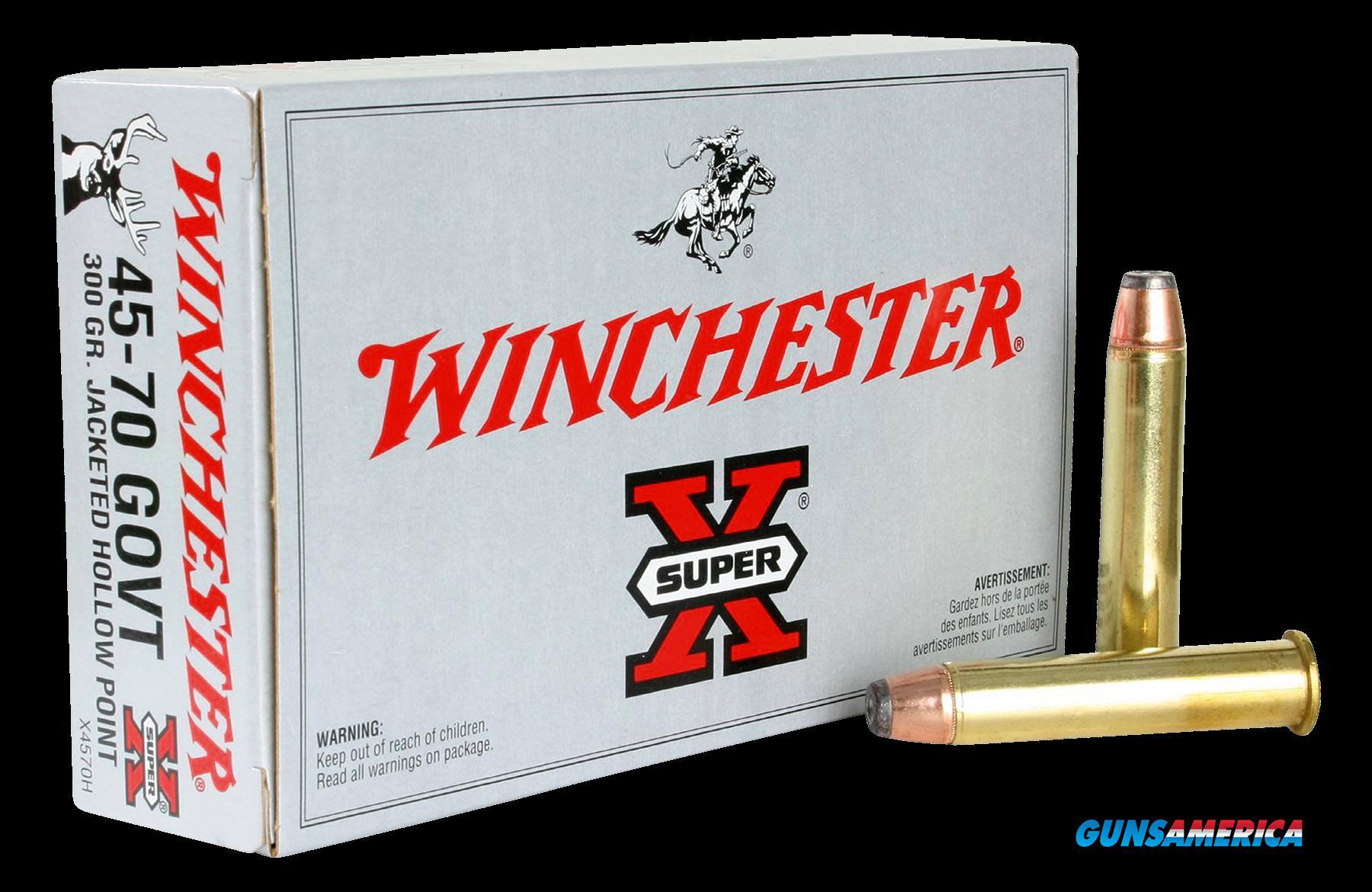 Winchester Ammo Super-x, Win X4570h        4570   300jhp  20-10  Guns > Pistols > 1911 Pistol Copies (non-Colt)