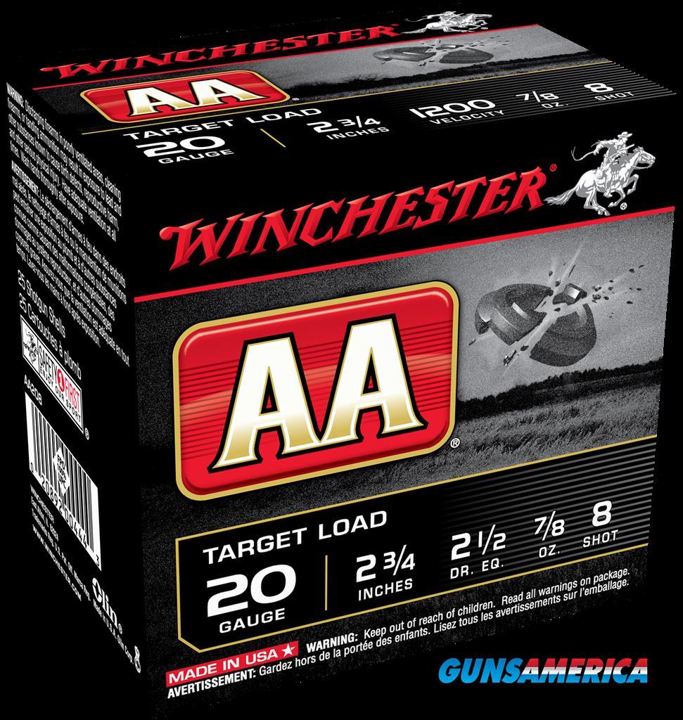 Winchester Ammo Aa, Win Aa208      Aa Target    7-8  25-10  Guns > Pistols > 1911 Pistol Copies (non-Colt)