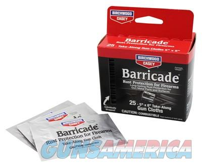 B-c Barricade Rust Protection - 25-individually Packed Wipes  Guns > Pistols > 1911 Pistol Copies (non-Colt)