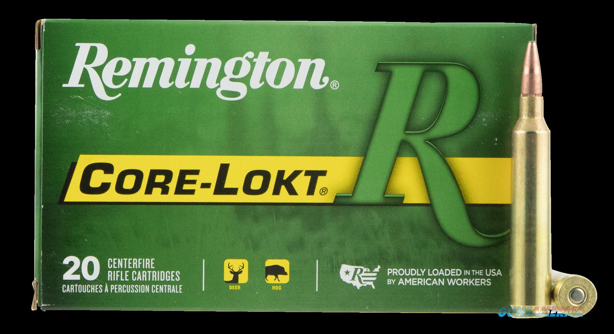 Remington Ammunition Core-lokt, Rem 27759 R7rum01 7mmrum   150 Pspcl   20-10  Guns > Pistols > 1911 Pistol Copies (non-Colt)