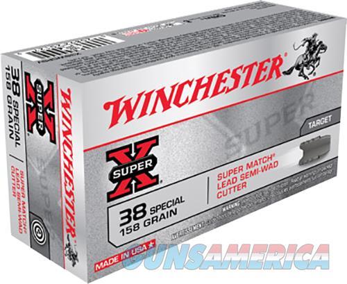 Winchester Ammo Super-x, Win X38wcpsv  38sp    158 Swcld     50-10  Guns > Pistols > 1911 Pistol Copies (non-Colt)