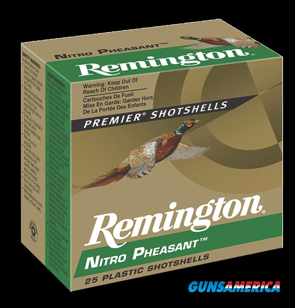 Remington Ammunition Premier, Rem 28636 Np12m6  12 Ntr Phsnt 13-8    25-10  Guns > Pistols > 1911 Pistol Copies (non-Colt)