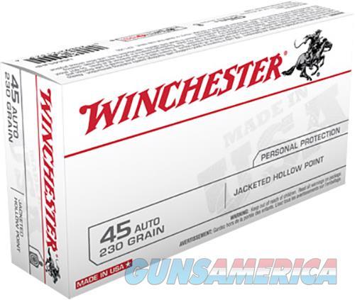 Winchester Ammo Usa, Win Usa45jhp  45       230 Jhp      50-10  Guns > Pistols > 1911 Pistol Copies (non-Colt)