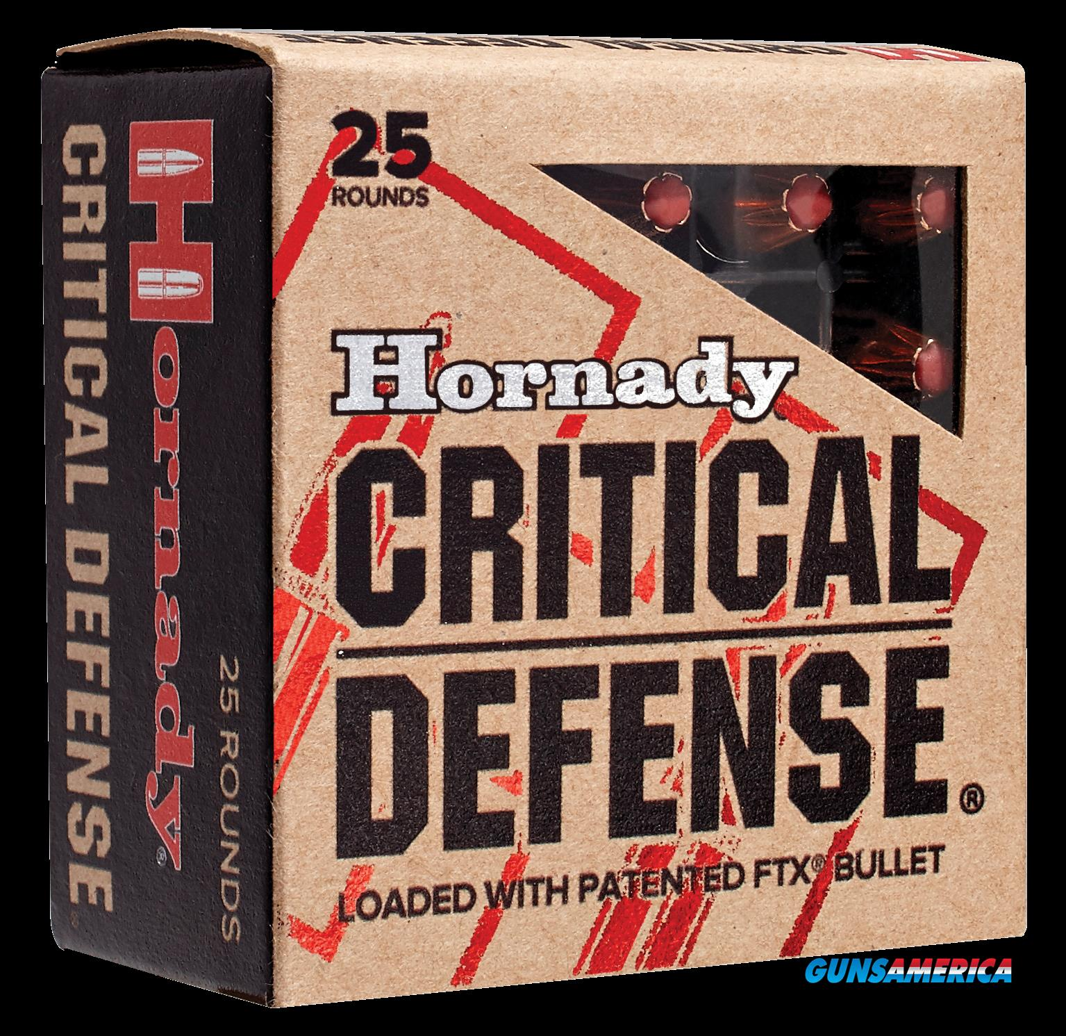 Hornady Critical Defense, Horn 90700 Critdef 44 Sp 165 Ftx 20-10  Guns > Pistols > 1911 Pistol Copies (non-Colt)