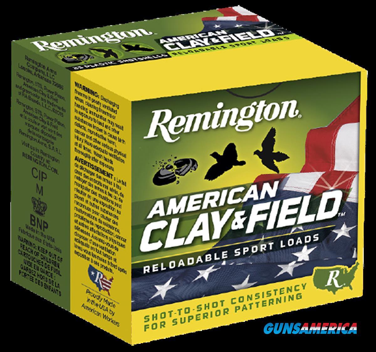 Remington Ammunition American Clay & Field Sport, Rem 20346 Ht128      12      8   1 1-8 25-10  Guns > Pistols > 1911 Pistol Copies (non-Colt)