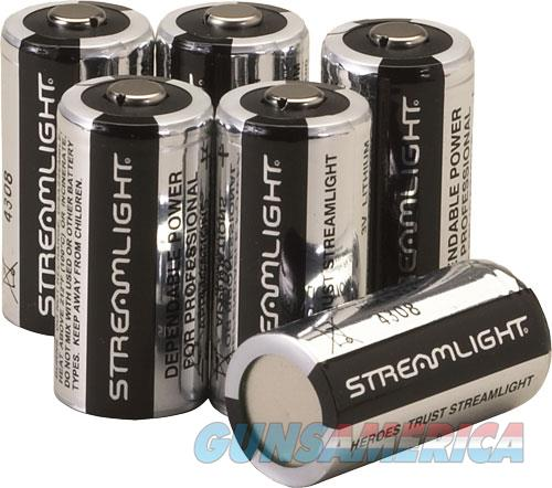 Streamlight Cr123a Batteries - Lithium 6-pack  Guns > Pistols > 1911 Pistol Copies (non-Colt)
