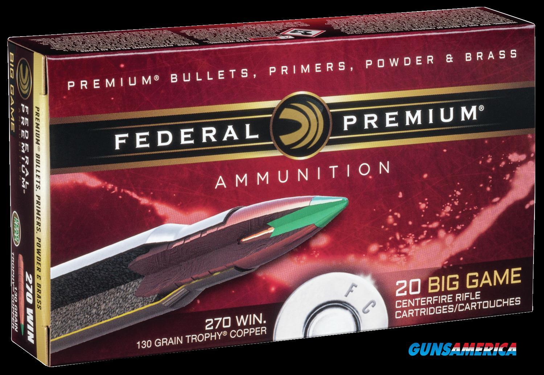Federal Premium, Fed P270tc1    270    130 Tc          20-10  Guns > Pistols > 1911 Pistol Copies (non-Colt)