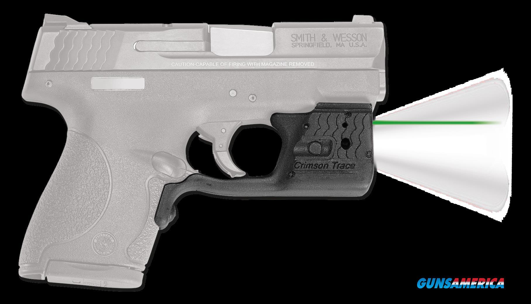 Crimson Trace Laserguard Pro, Crim Ll801g    Lg Pro Shield Green  Guns > Pistols > 1911 Pistol Copies (non-Colt)