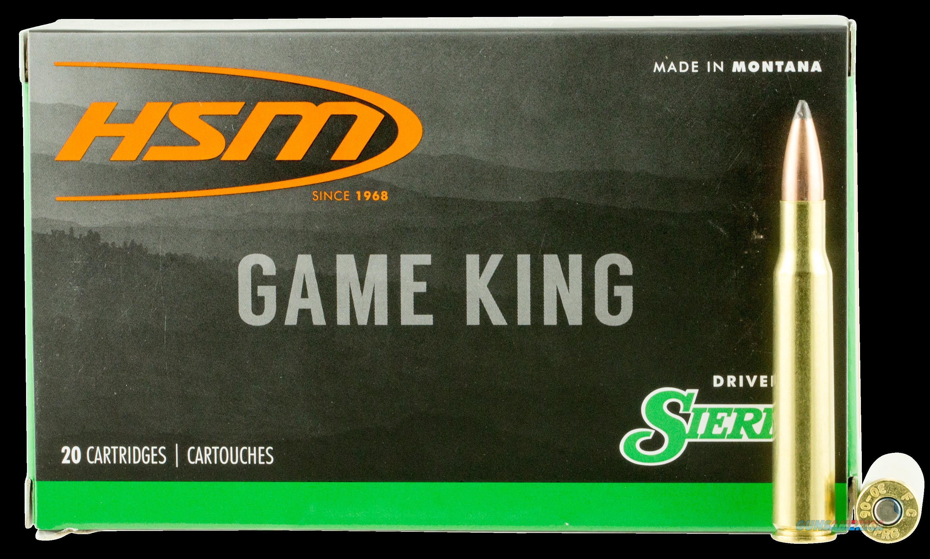 Hsm Game King, Hsm 300639n            3006     150 Sbt  Gk  20-20  Guns > Pistols > 1911 Pistol Copies (non-Colt)