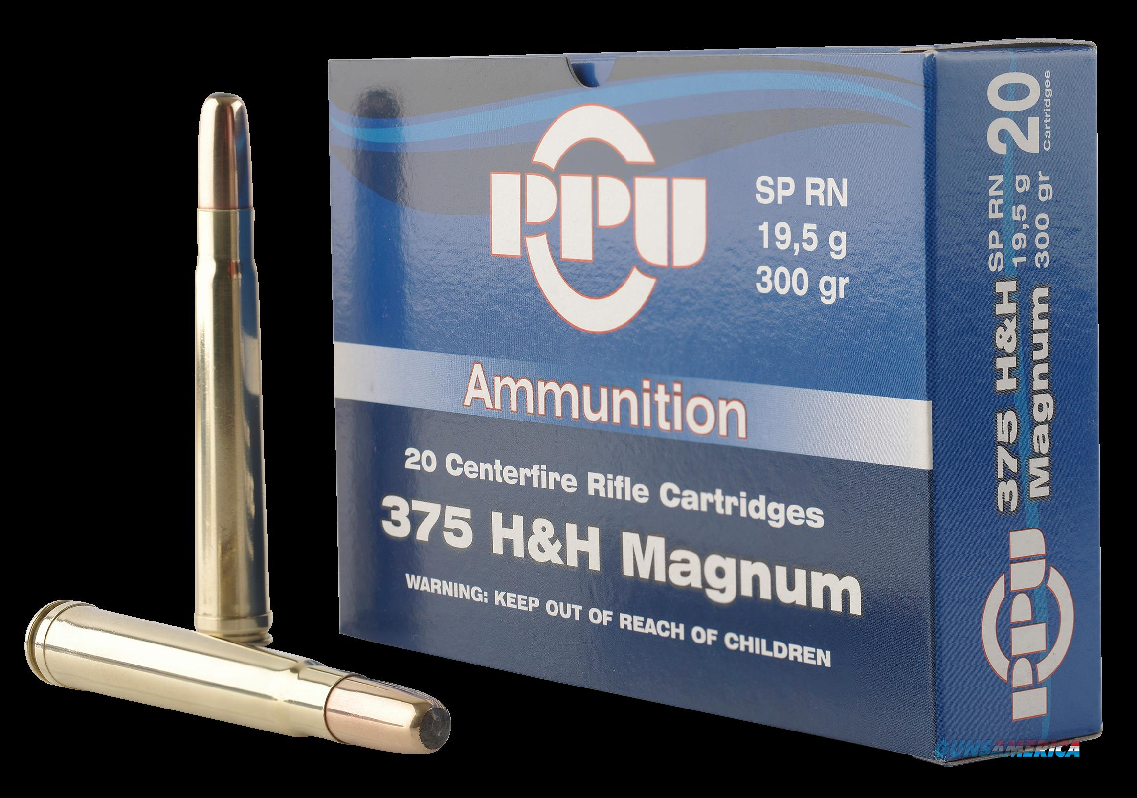 Ppu Standard Rifle, Ppu Pp375s      375 H&h     300 Sprn         10-20  Guns > Pistols > 1911 Pistol Copies (non-Colt)