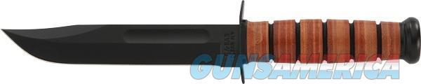 Ka-bar Fighting-utility Knife - 7 W-leather Sheath Us Army  Guns > Pistols > 1911 Pistol Copies (non-Colt)
