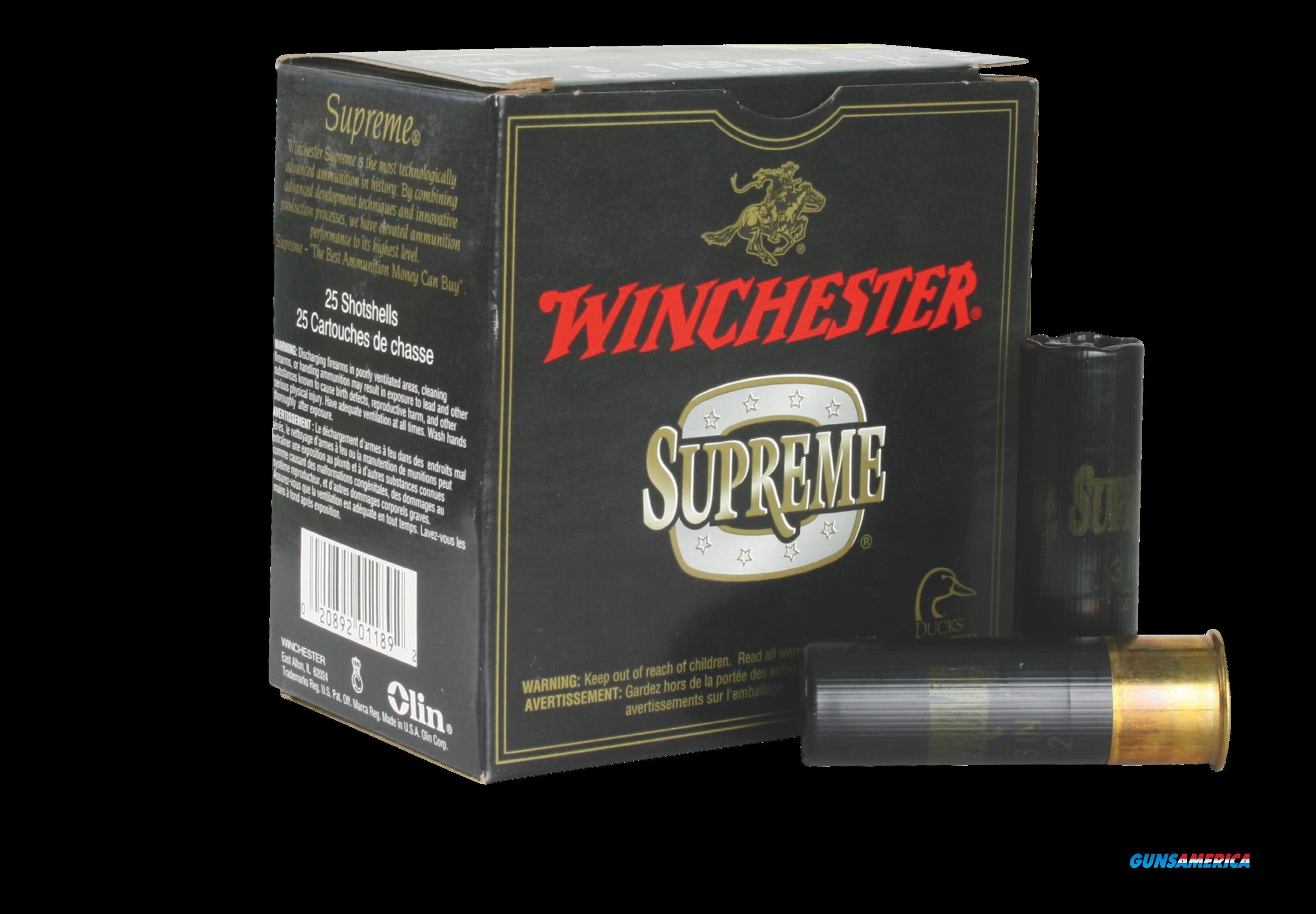 Winchester Ammo Drylock Super Steel, Win Ssh1232    Supreme Hv    Stl  25-10  Guns > Pistols > 1911 Pistol Copies (non-Colt)