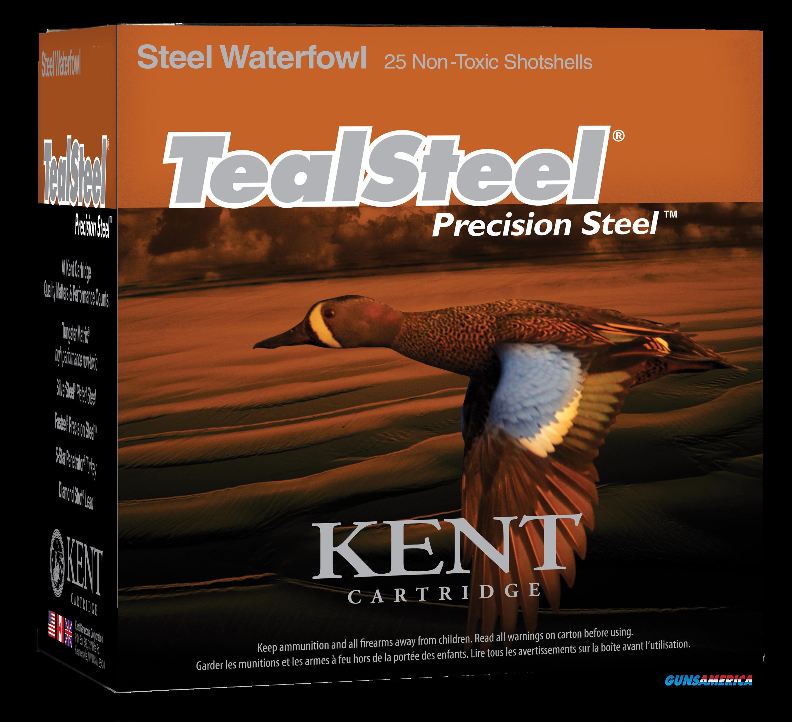 Kent Cartridge Teal Steel, Kent Kts203286  3in  1oz   Teal Stl          25-10  Guns > Pistols > 1911 Pistol Copies (non-Colt)
