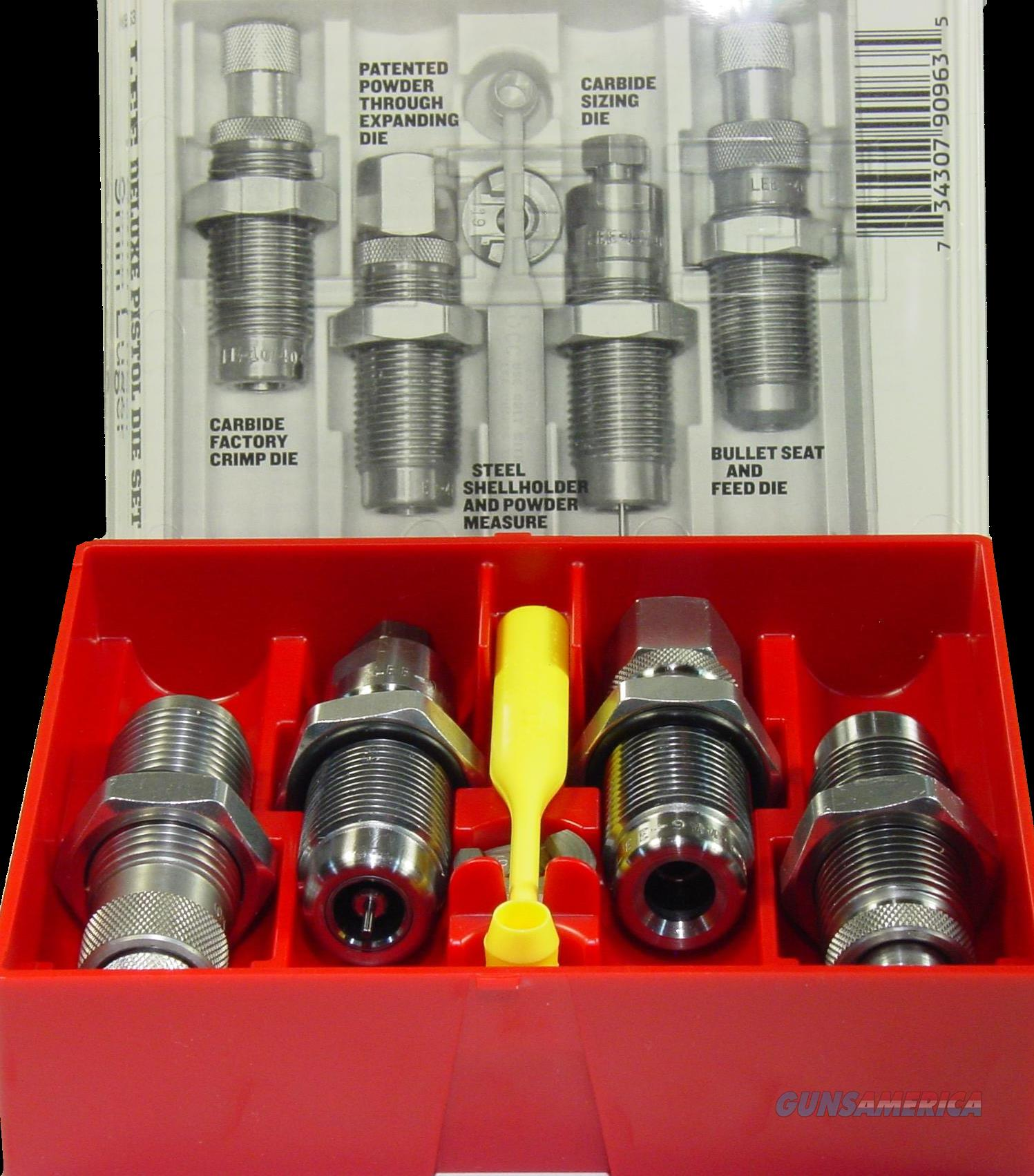 Lee Deluxe, Lee 90965 4 Die Set 40 S&w Carbide  Guns > Pistols > 1911 Pistol Copies (non-Colt)