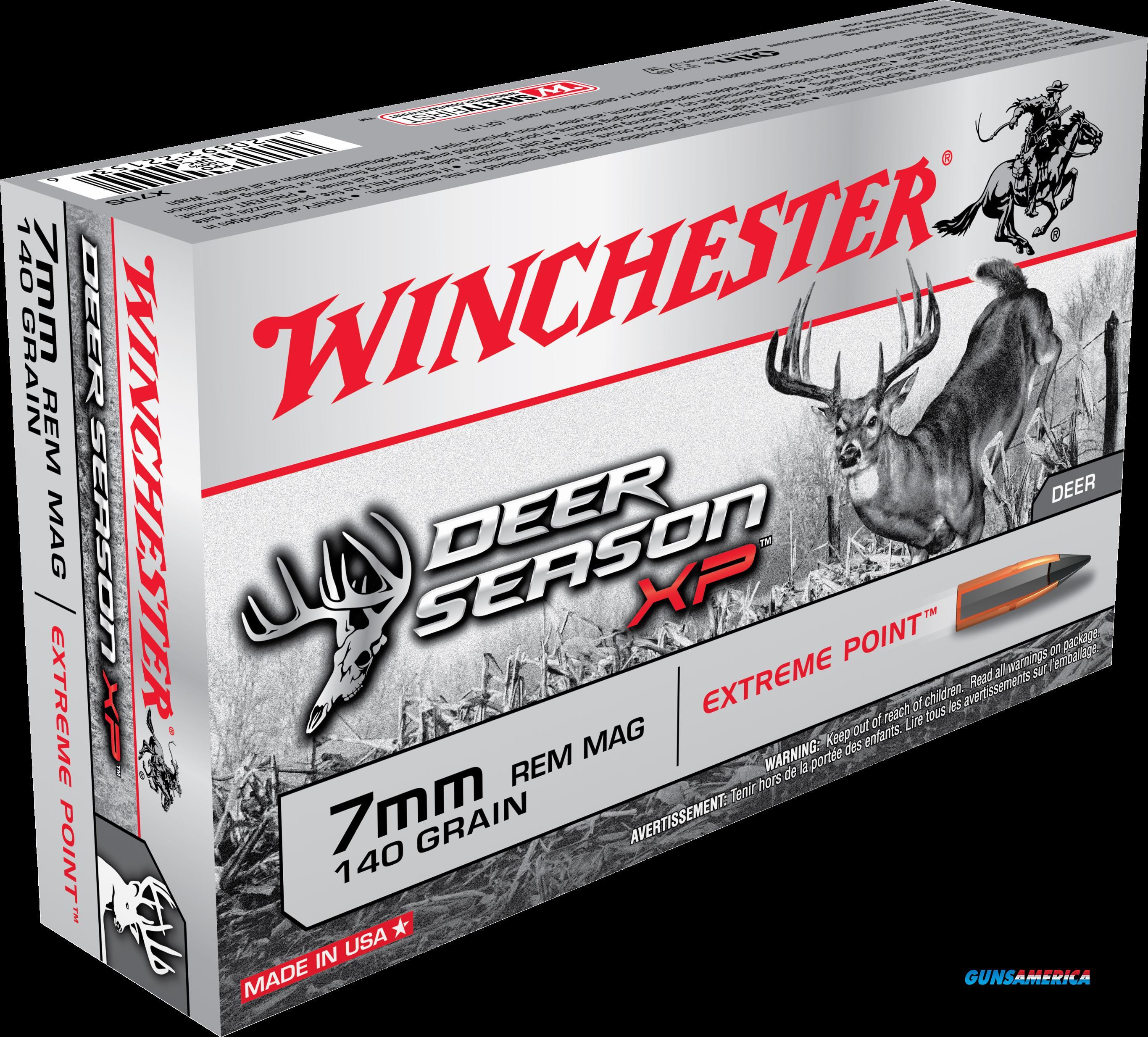 Winchester Ammo Deer Season Xp, Win X7ds    Deer  7mm    140ep   20-10  Guns > Pistols > 1911 Pistol Copies (non-Colt)