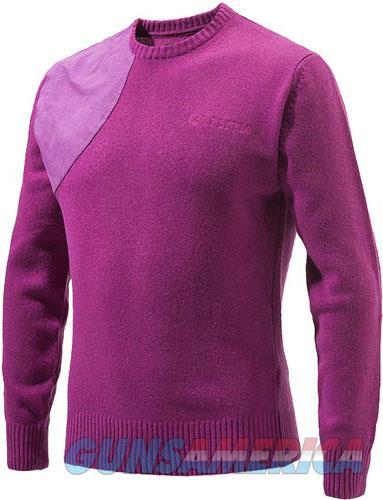 Beretta Men's Classic Round - Neck Sweater Medium Violet<  Guns > Pistols > 1911 Pistol Copies (non-Colt)