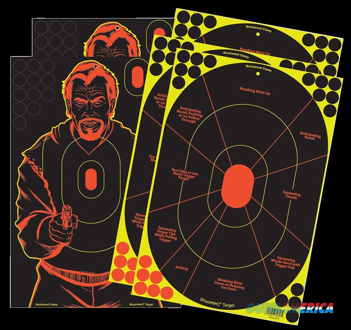 Birchwood Casey Shoot-n-c, Bir 34630 Shoot-n-c 12x18 3trainer-2badguy Targets  Guns > Pistols > 1911 Pistol Copies (non-Colt)