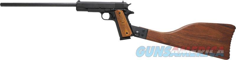 Iver Johnson 1911a1 Rifle - .45acp 16 Fs 8rd Matte Wood  Guns > Pistols > 1911 Pistol Copies (non-Colt)