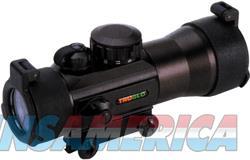 Truglo 2x42mm Sight Red-green - 4-reticle W-mount Black Matte  Guns > Pistols > 1911 Pistol Copies (non-Colt)