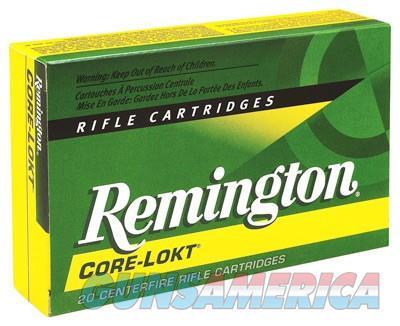 Remington Core-lokt 280 Rem 165gr Sp 20-bx  Guns > Pistols > 1911 Pistol Copies (non-Colt)
