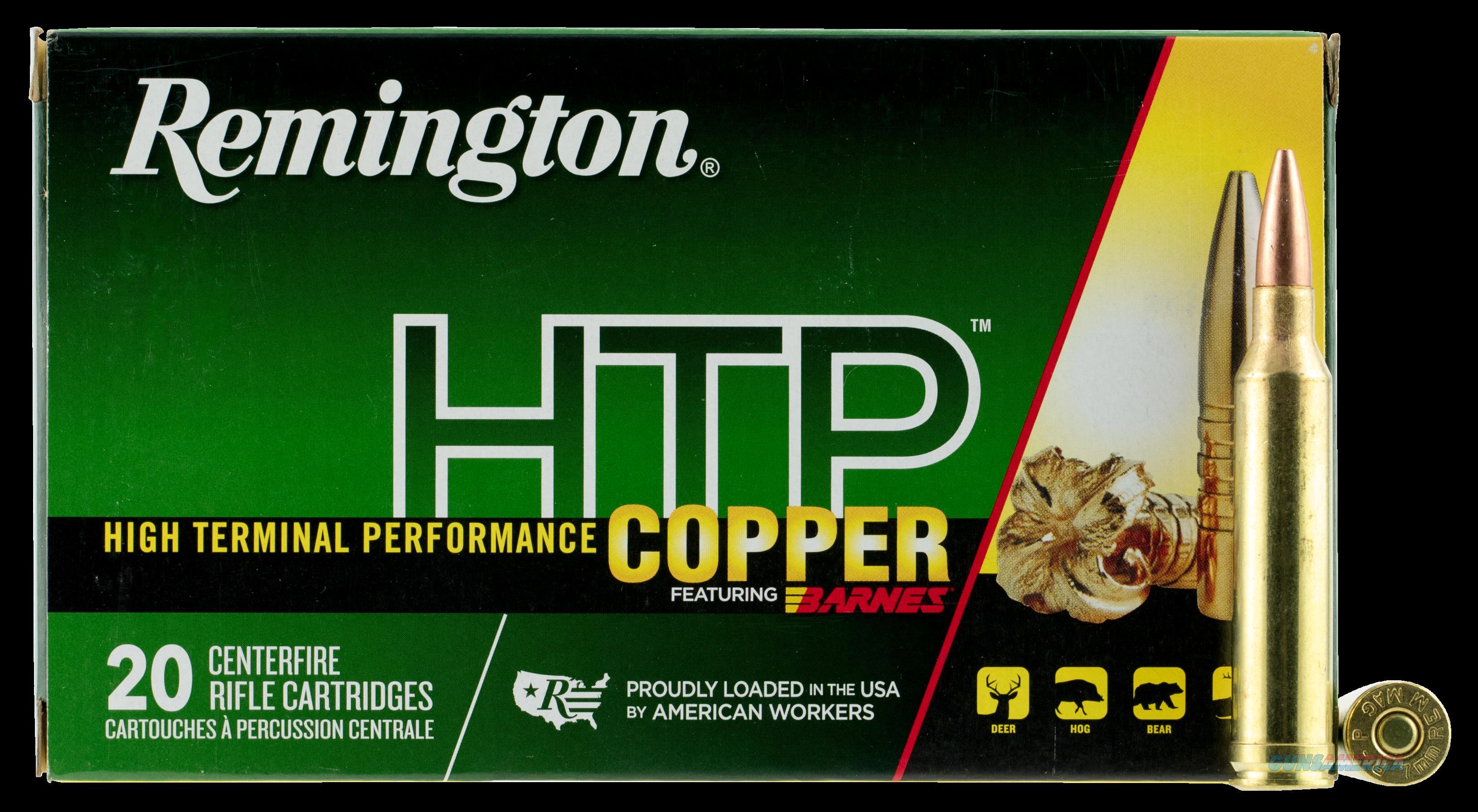 Remington Ammunition Htp Copper, Rem 27718 Htp7mm    Htp Copper 140 Tsx Bt 20-10  Guns > Pistols > 1911 Pistol Copies (non-Colt)