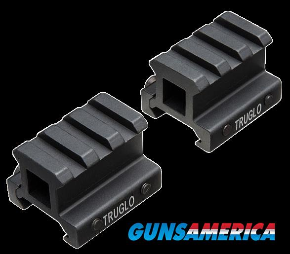 Truglo Riser Mount, Tru Tg8982b    Riser Mnt Pict 3-4  2-pc  Guns > Pistols > 1911 Pistol Copies (non-Colt)
