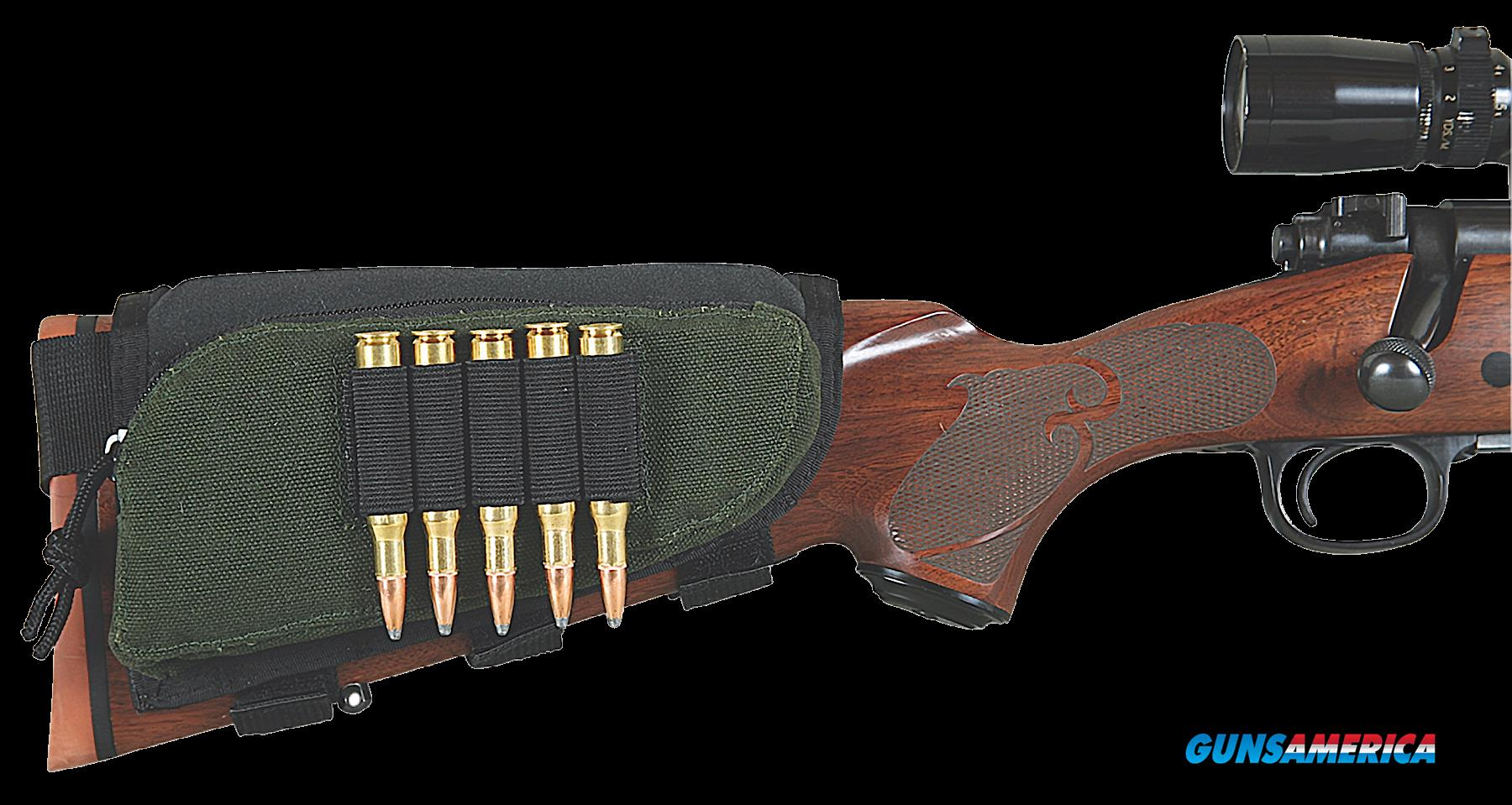 Allen Buttstock, Allen 20550 Bstk Shell Holder W-pouch  Guns > Pistols > 1911 Pistol Copies (non-Colt)