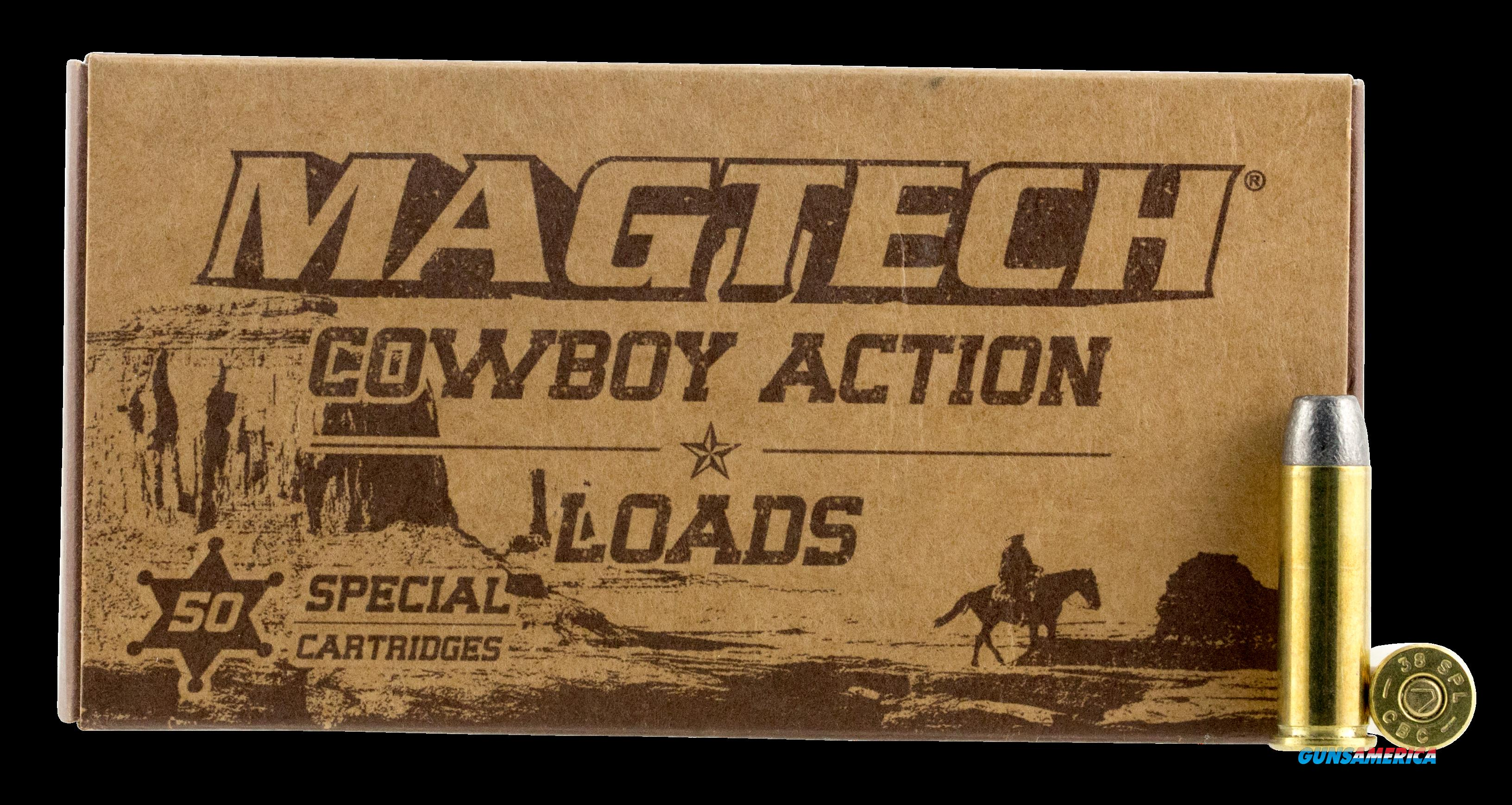 Magtech Cowboy Action, Magtech 38l   Cowboy 38sp 158 Lfn50-20  Guns > Pistols > 1911 Pistol Copies (non-Colt)