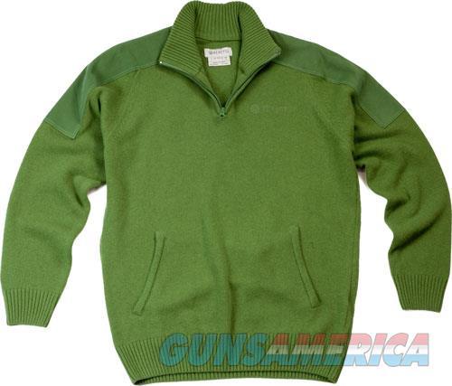 Beretta Men's Classic Half Zip - Sweater Large Light Green<  Guns > Pistols > 1911 Pistol Copies (non-Colt)