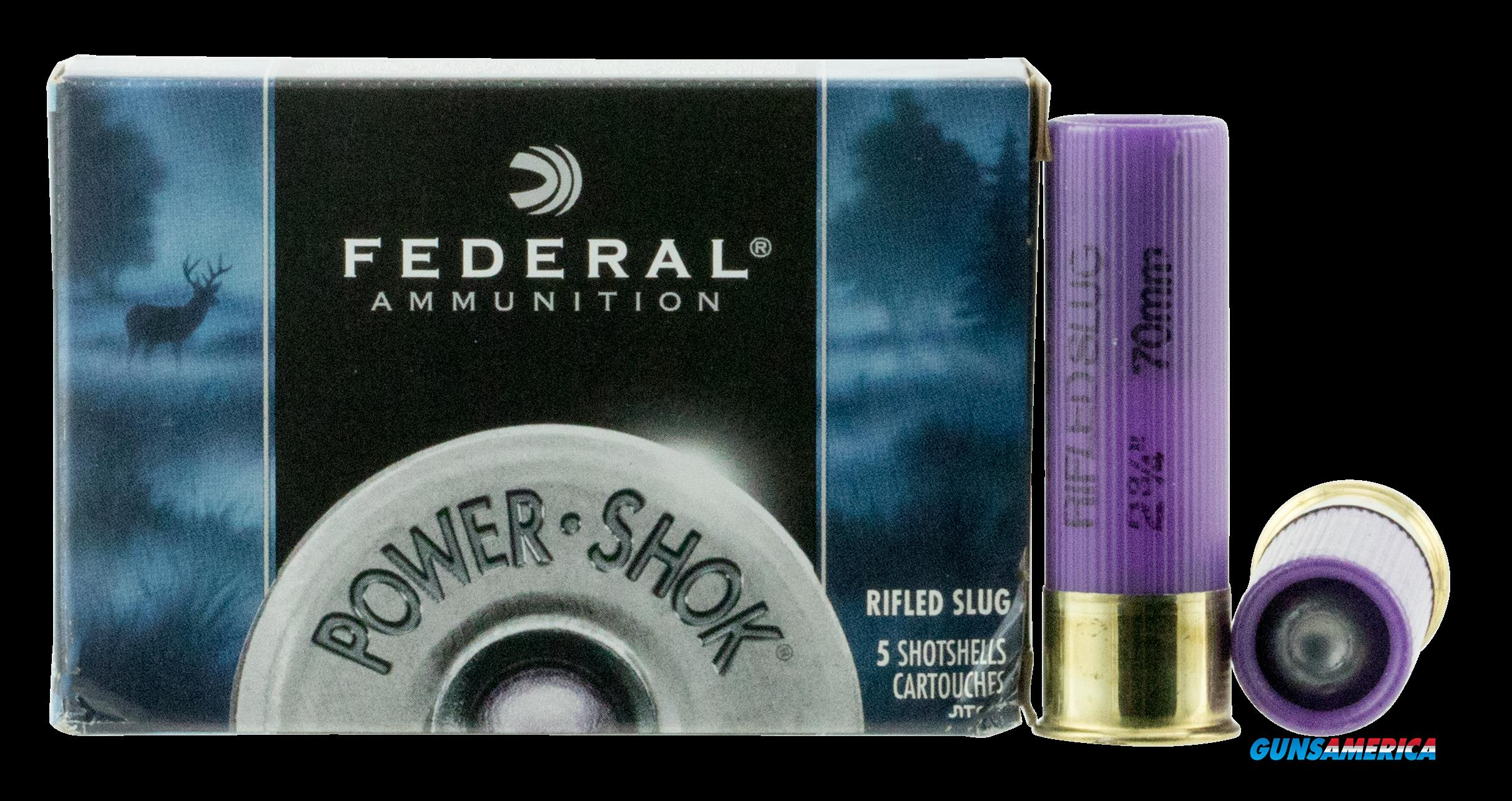 Federal Power-shok, Fed F164rs            16         Slug      5-50  Guns > Pistols > 1911 Pistol Copies (non-Colt)