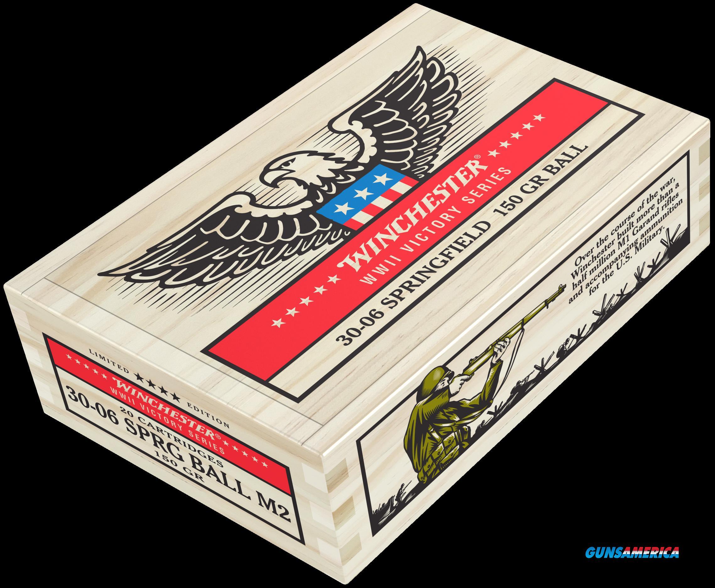 Winchester Ammo Wwii Victory Series, Win X3006ww2      3006   150 Flat Bs M2 20-5 Vict  Guns > Pistols > 1911 Pistol Copies (non-Colt)
