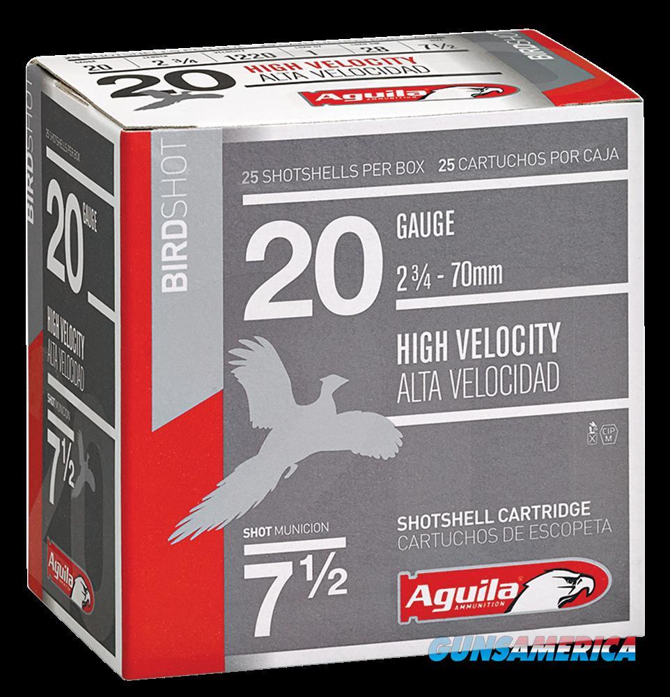 Aguila Field, Aguila 1chb2048 20ga       8   1 Oz       25-10  Guns > Pistols > 1911 Pistol Copies (non-Colt)