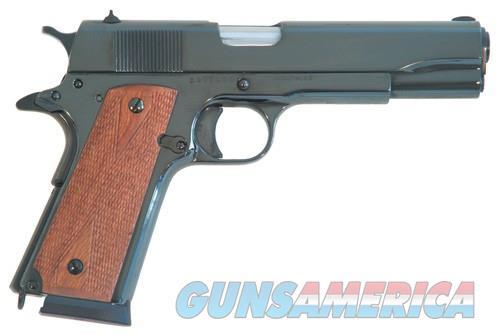 Cimarron 1911a1 .45acp 5 Fs - 8-shot Polished Blued Walnut  Guns > Pistols > 1911 Pistol Copies (non-Colt)