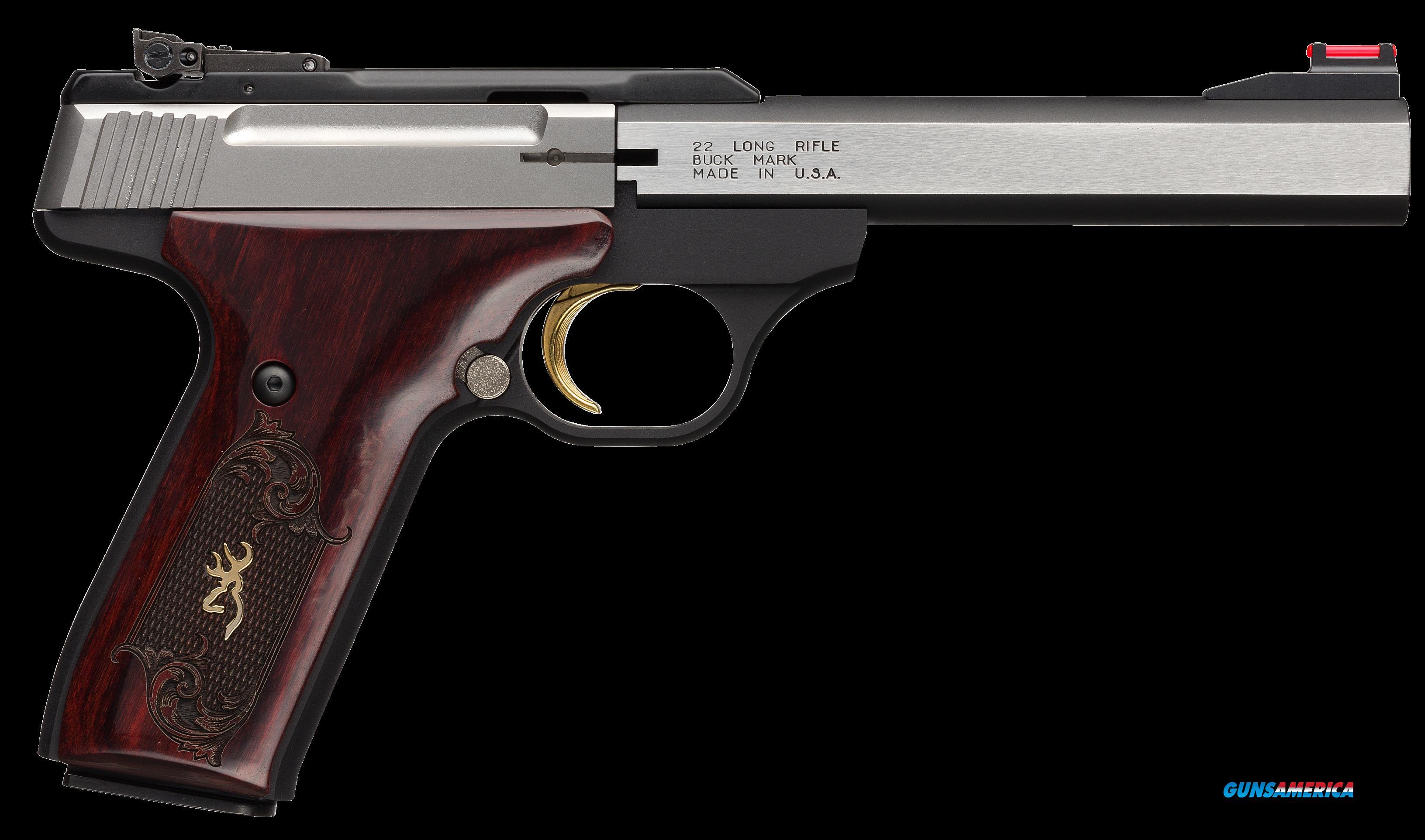 Browning Buck Mark, Brn 051-543490 Bkmk 22 Med 5.5 Fo  Rswd  Guns > Pistols > 1911 Pistol Copies (non-Colt)