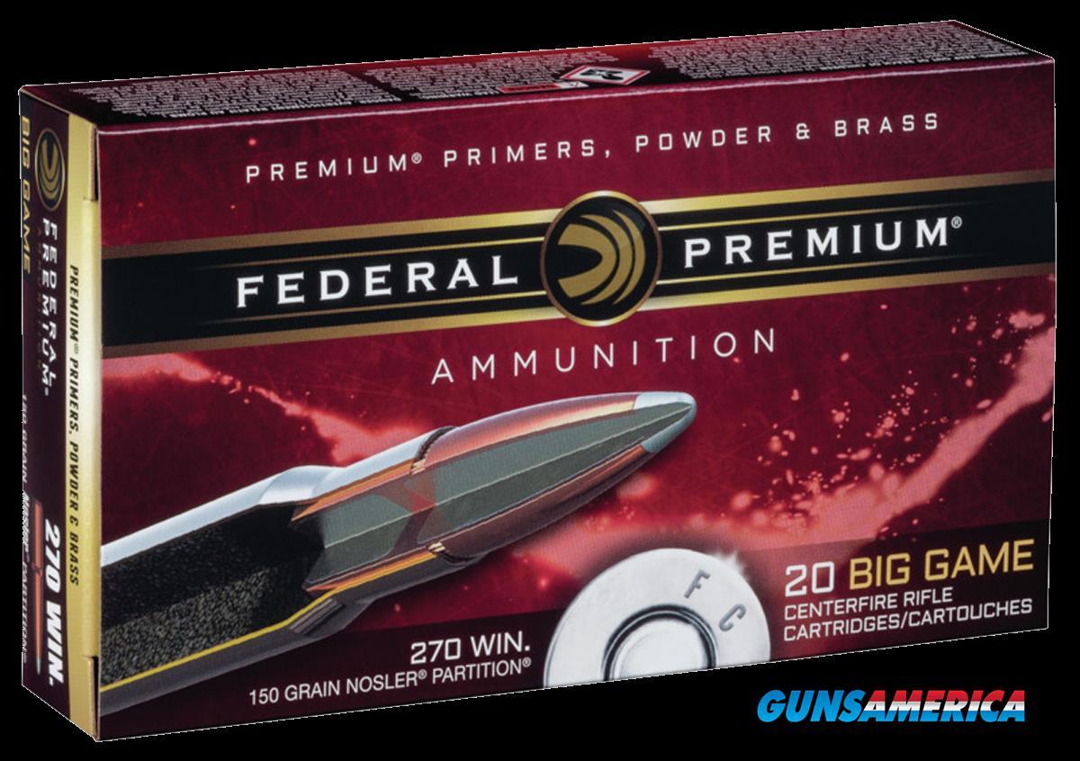 Federal Premium, Fed P270e      270    150 Np          20-10  Guns > Pistols > 1911 Pistol Copies (non-Colt)