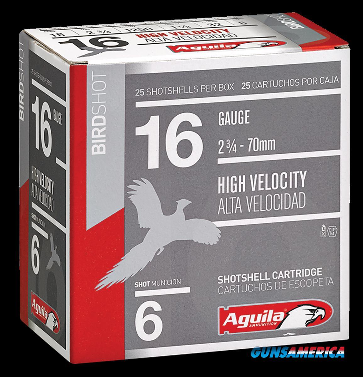 Aguila Field, Aguila 1chb1606 16ga Hv    6   11-8 Oz      25-10  Guns > Pistols > 1911 Pistol Copies (non-Colt)