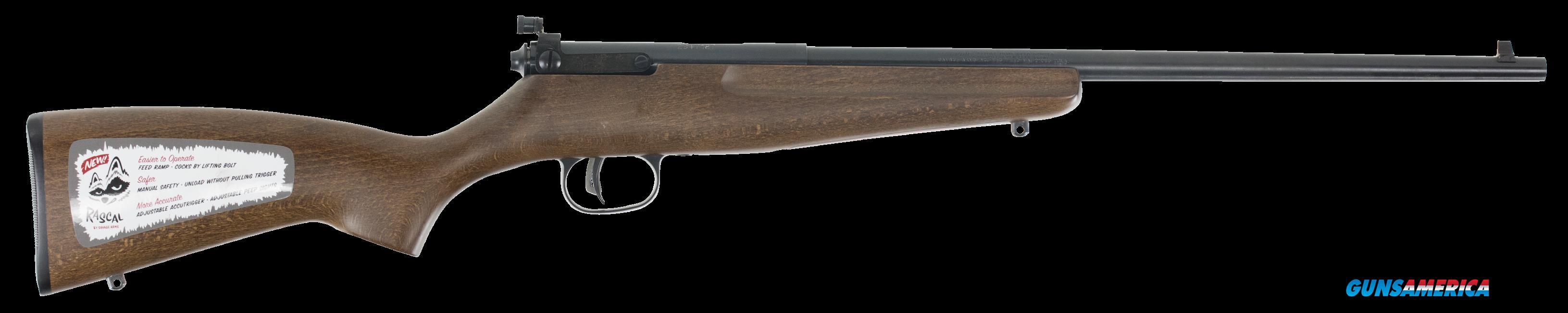 Savage Rascal, Sav 13820 Rascal     22lr Yth Hardwood Lh  Guns > Pistols > 1911 Pistol Copies (non-Colt)