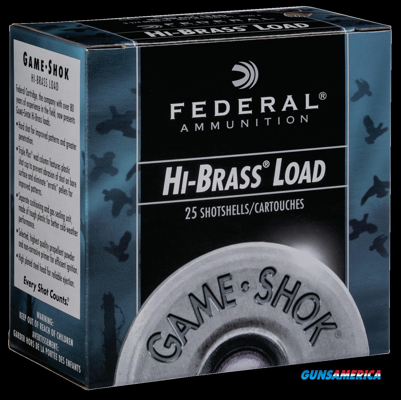 Federal Game-shok, Fed H2044     Gmshk Hb 20   1oz          25-10  Guns > Pistols > 1911 Pistol Copies (non-Colt)