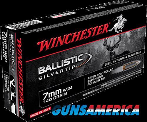 Winchester Ammo Ballistic Silvertip, Win Sbst7mms      7mmwsm 140sbst 20-10  Guns > Pistols > 1911 Pistol Copies (non-Colt)