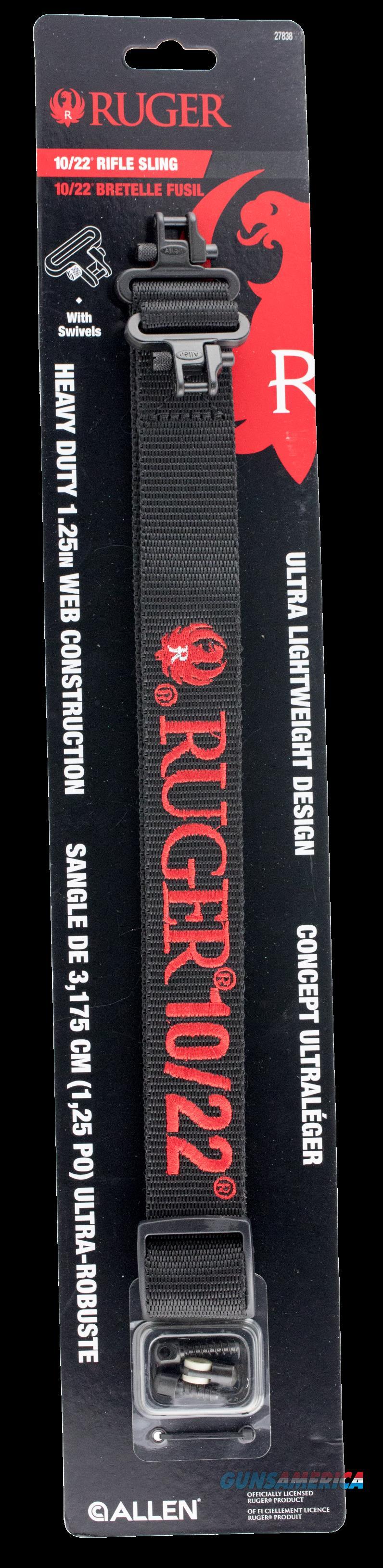Allen Ruger, Allen 27838 Ruger 1022 Rifle Sling  Guns > Pistols > 1911 Pistol Copies (non-Colt)