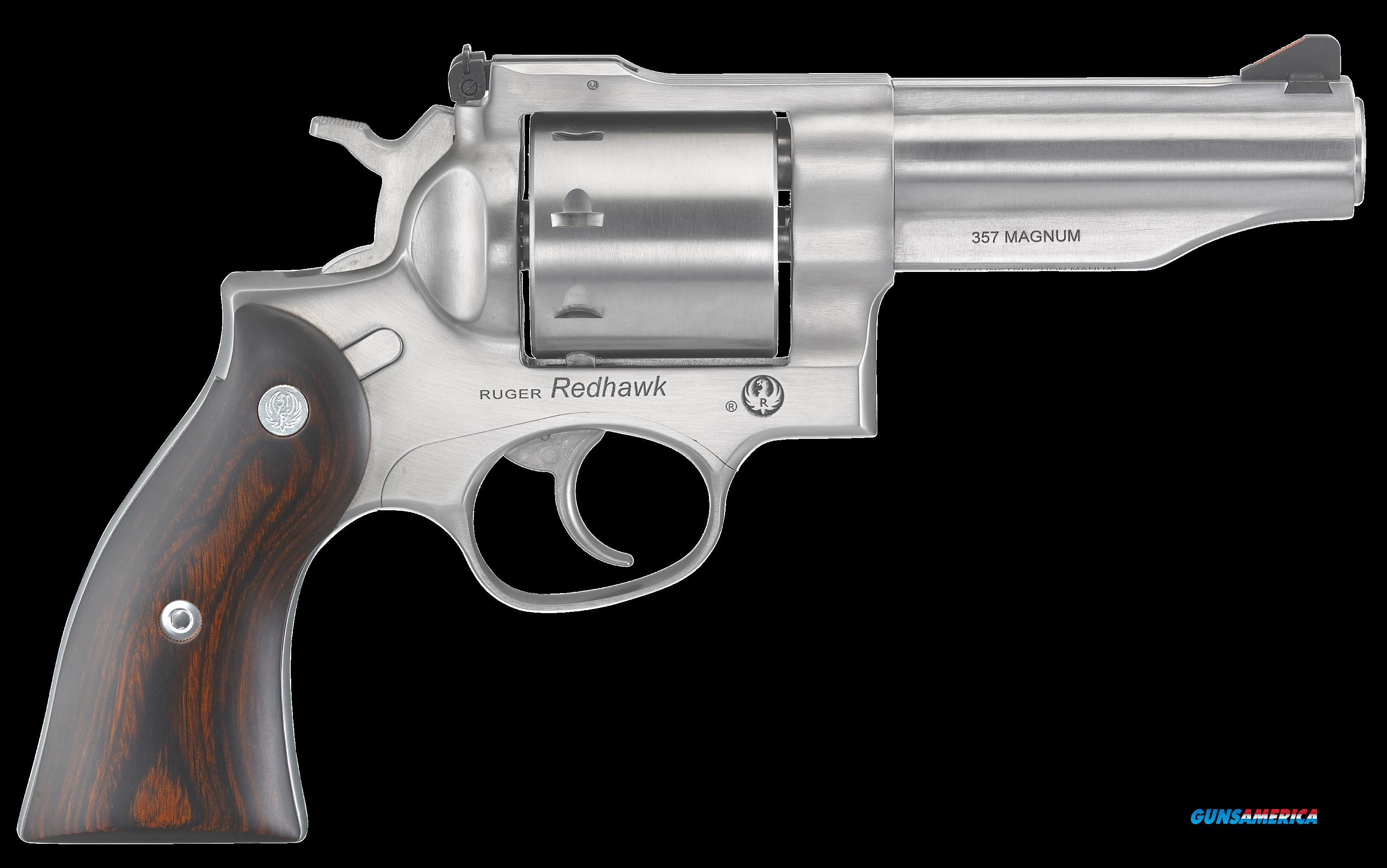 Ruger Redhawk, Rug 5059  Redhwk   357    4.2    8rd Ss-wood  Guns > Pistols > 1911 Pistol Copies (non-Colt)