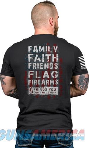 Nine Line Apparel 5 Things - Men's T-shirt Black 3xl  Guns > Pistols > 1911 Pistol Copies (non-Colt)