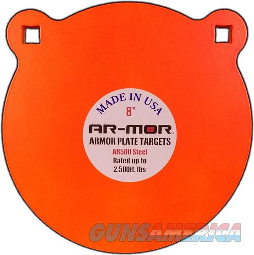 Ar-mor 8 Ar500 Steel Gong - 1-2 Thick Steel Orange Round  Guns > Pistols > 1911 Pistol Copies (non-Colt)