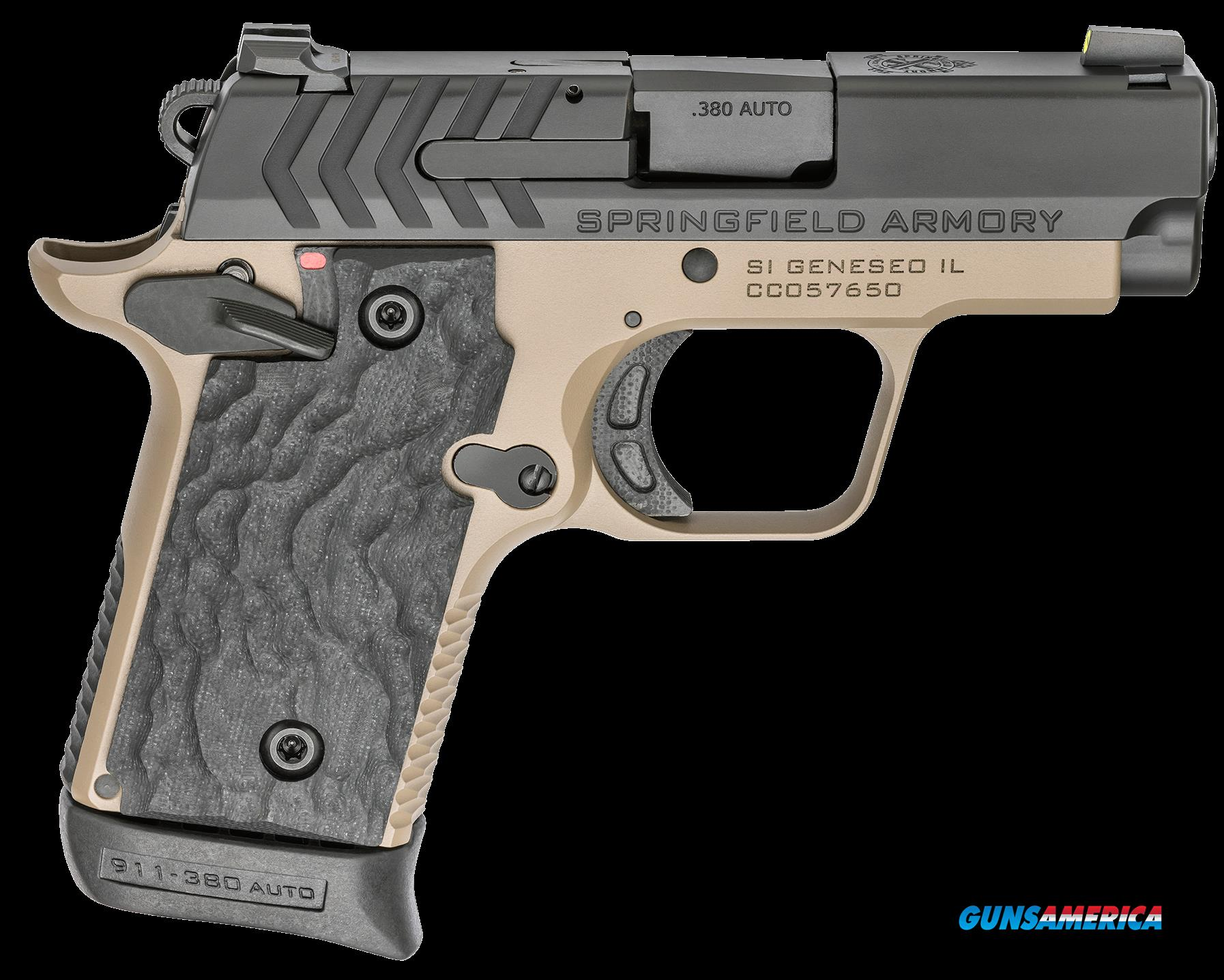 Springfield Armory 911, Spg Pg9109fn      380 911 2.7 Ntrd Fde       6-7r  Guns > Pistols > 1911 Pistol Copies (non-Colt)
