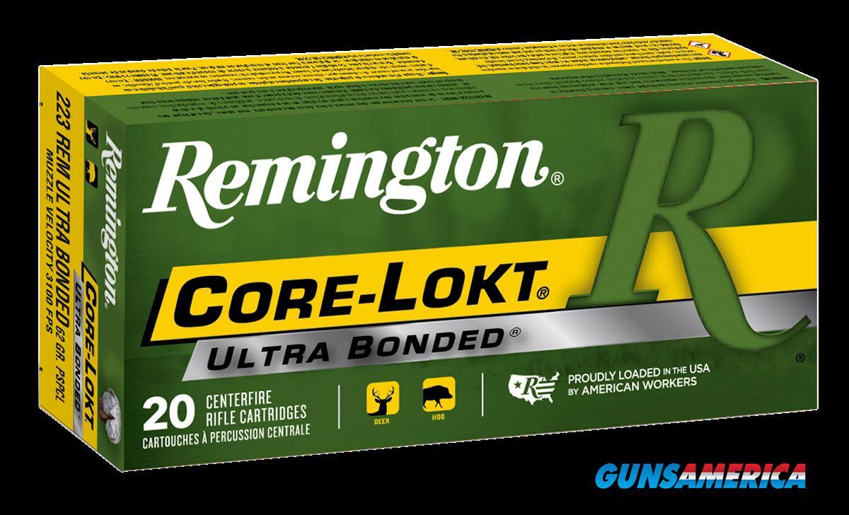 Remington Ammunition Core-lokt, Rem 22111 R223r8  223 Rem    62 Psp    20-10  Guns > Pistols > 1911 Pistol Copies (non-Colt)