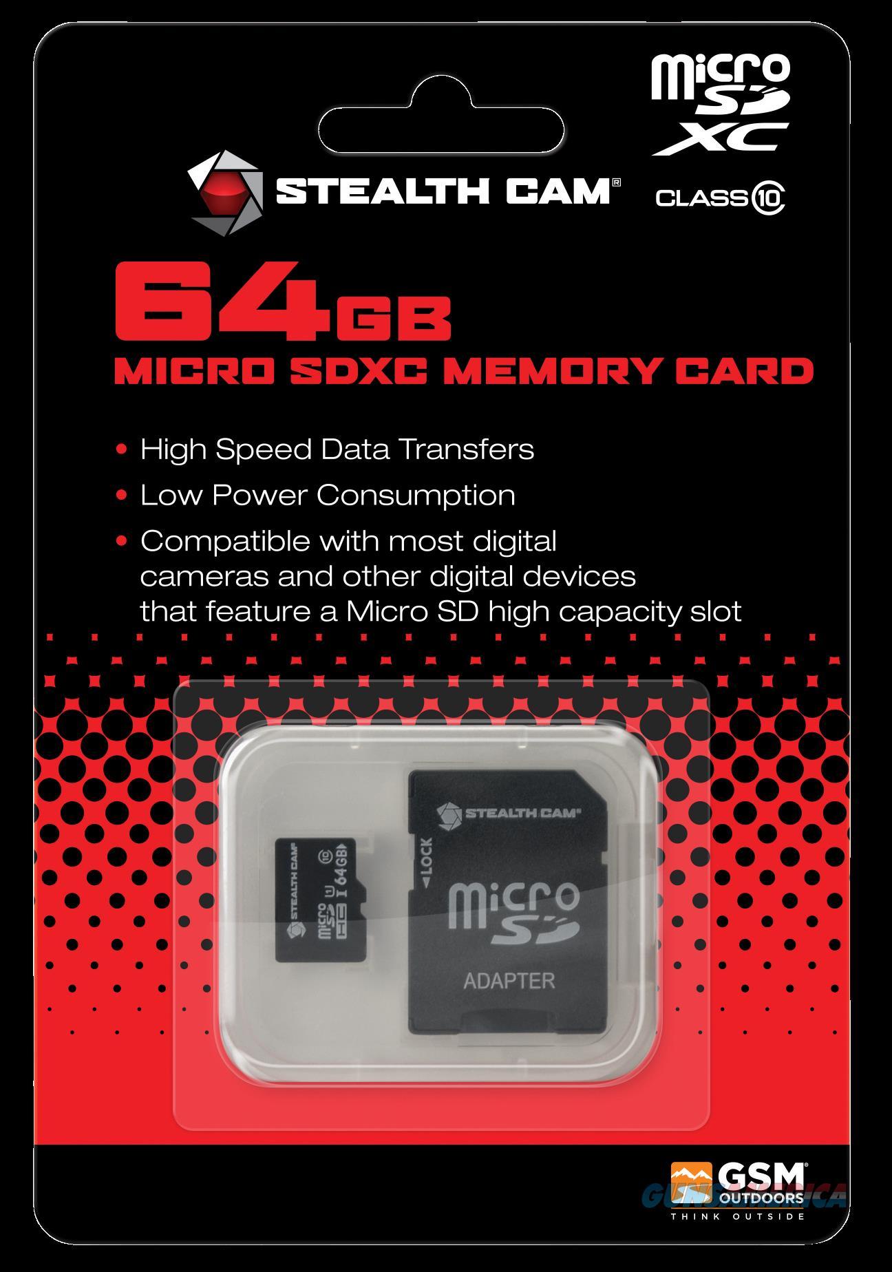 Stealth Cam Micro Sd, Steal Stc-64micsd   64gb Micro Sd Card  Guns > Pistols > 1911 Pistol Copies (non-Colt)