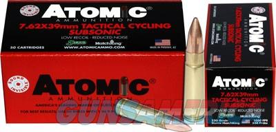 Atomic Ammo 7.62x39 Subsonic - 220gr. Hollow Point Bt 50-pack  Guns > Pistols > 1911 Pistol Copies (non-Colt)